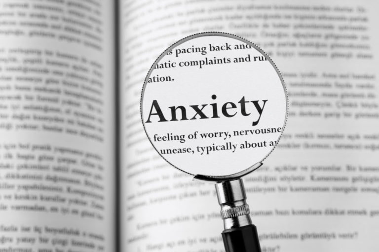 Image of anxiety attacks dictionary definition.
