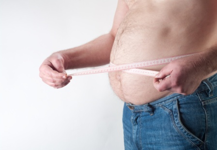 weight loss hypnotherapy image of a mans stomach
