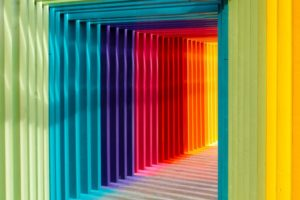 hypnosis page image showing many colours as abstract