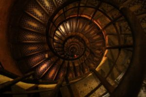 hypnotherapy page - hypnotic spiral image
