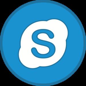 Skype logo on darts mind coaching page
