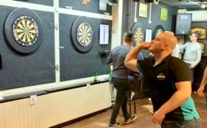 Darts mind coaching testimonial pic with Jeffrey Schraa