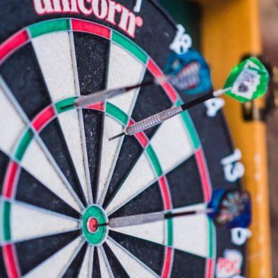 dart board on darts mind coaching page